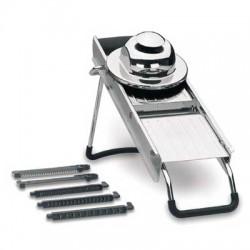 Mandolina inox de luxe 5 cuchillas