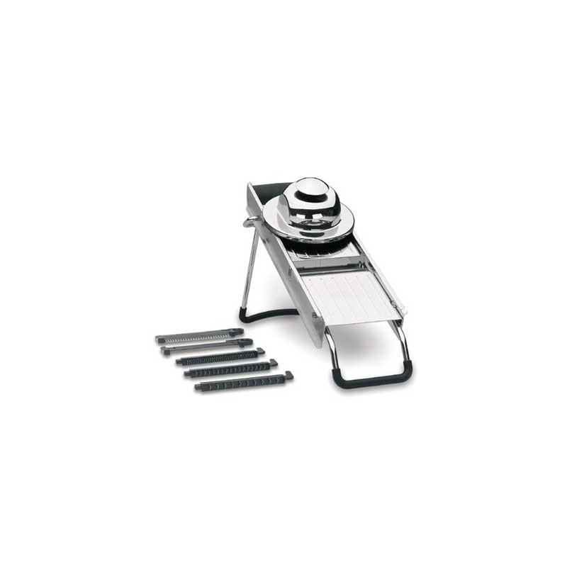 Mandolina de cocina acero inox lacor 60332 for Mandolina utensilio de cocina