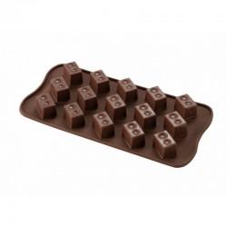 Molde para hacer bombones de chocolate