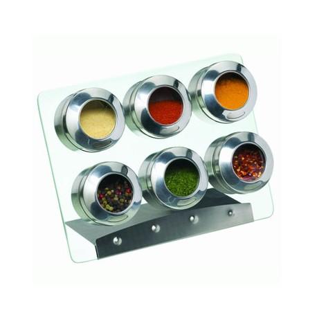 Especiero magnetico (7 piezas)