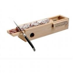 Caja para embutido con cuchillo