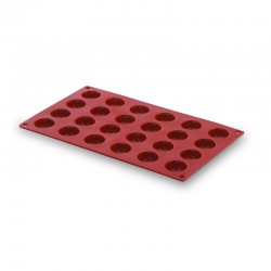 Molde silicona forma pomponette