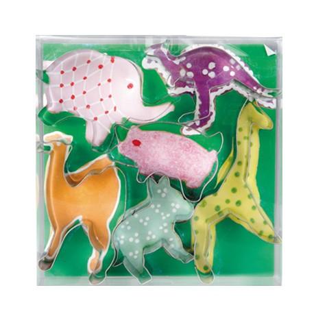 Corta pastas forma animales selva (caja 6 uds.)