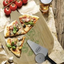 Tabla para servir y cortar pizza