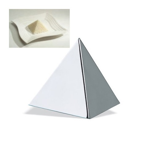 Molde emplatar forma piramide 4x4