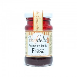 Aroma de fresa en pasta ChefDelice