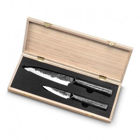 Set cuchillo utilitario y pelador Konan