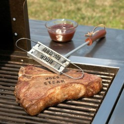 Hierro para marcar carnes
