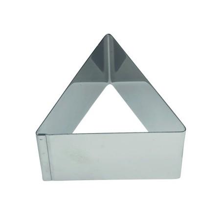 Aro emplatar forma triangulo 6 cms
