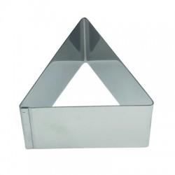 Aro emplatar forma triangulo 8 cms