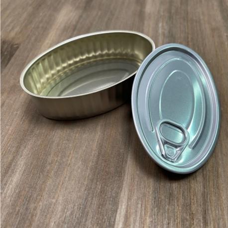 Lata oval para degustacion (6 uds)