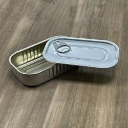 Lata rectangular para degustacion (10 uds)