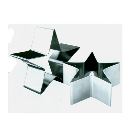 Aro emplatar forma estrella 10 cms
