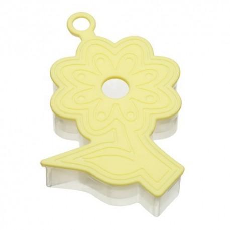 Molde para hacer galletas forma flor