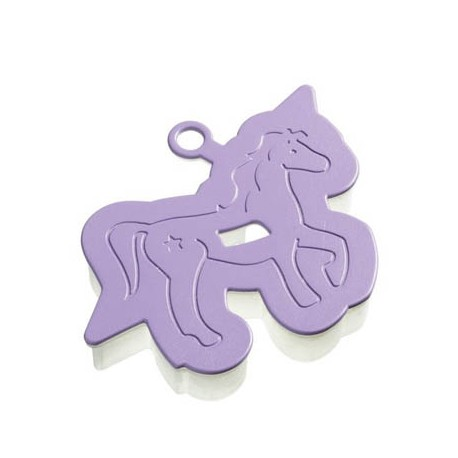Molde para hacer galletas forma caballo