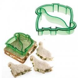 Molde para hacer sandwichs forma dino