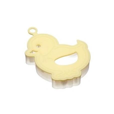 Molde para hacer galletas forma pollito
