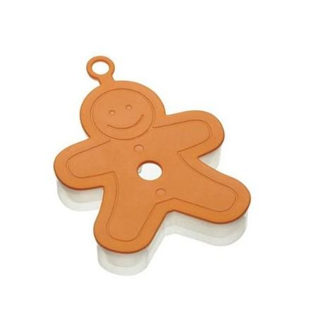 Molde para hacer galletas forma muÑeco de jengibre