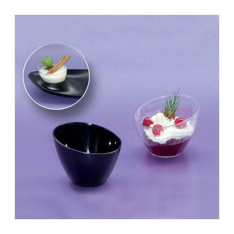 Bolw degustacion mini transparente (12 uds)