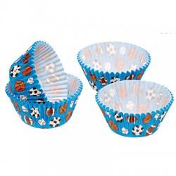 Moldes cupcake deportes (60 uds)