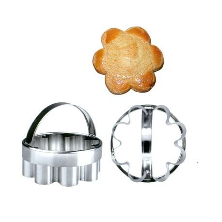 Cortador de galletas inox