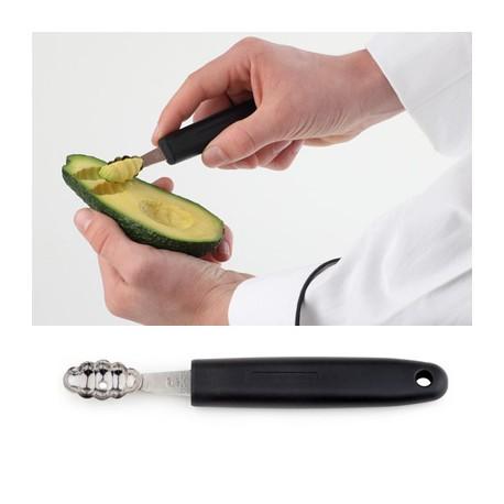 Vaciador de melon oval estriado