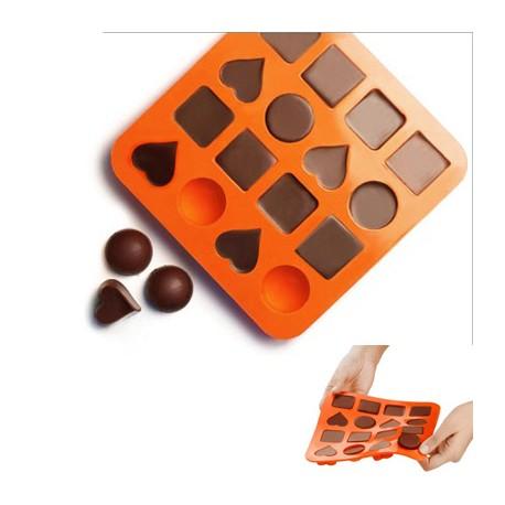 Molde para bombones de silicona