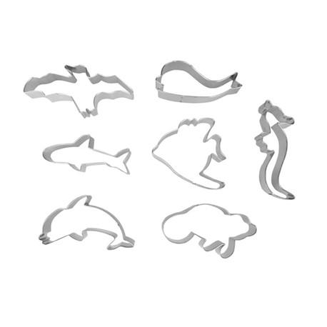 Corta pastas forma animales marinos