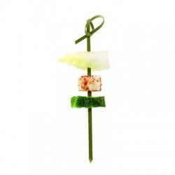 Brocheta de bambu noshi 9 cms (100 uds)