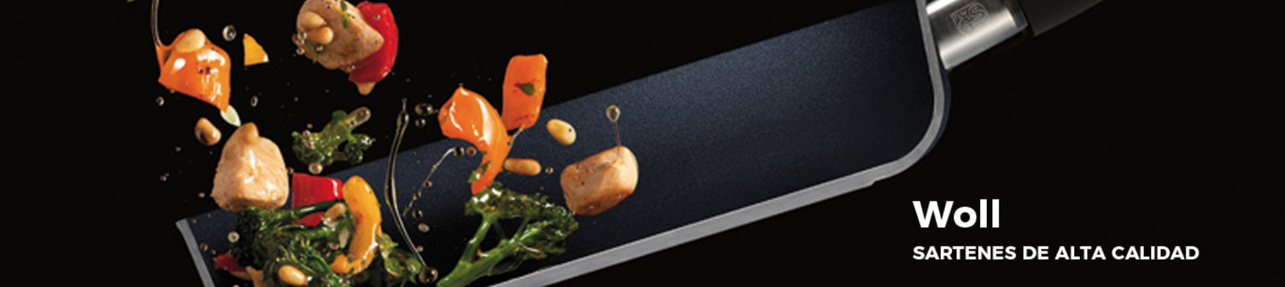 Sartenes de cocina Woll aptas para todo tipo de cocinas